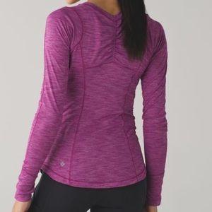Lululemon 5 mile LS long sleeve shirt